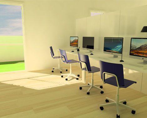 La sala computer